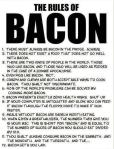 The Rules Of Bacon   ( cc: @drghaheri )